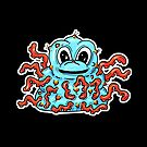 Imaginary Weirdos! The Blue Tentacle Wart Monster by Shelly Still