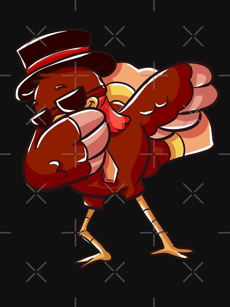 Dabbing Turkey Thanksgiving by rkhy