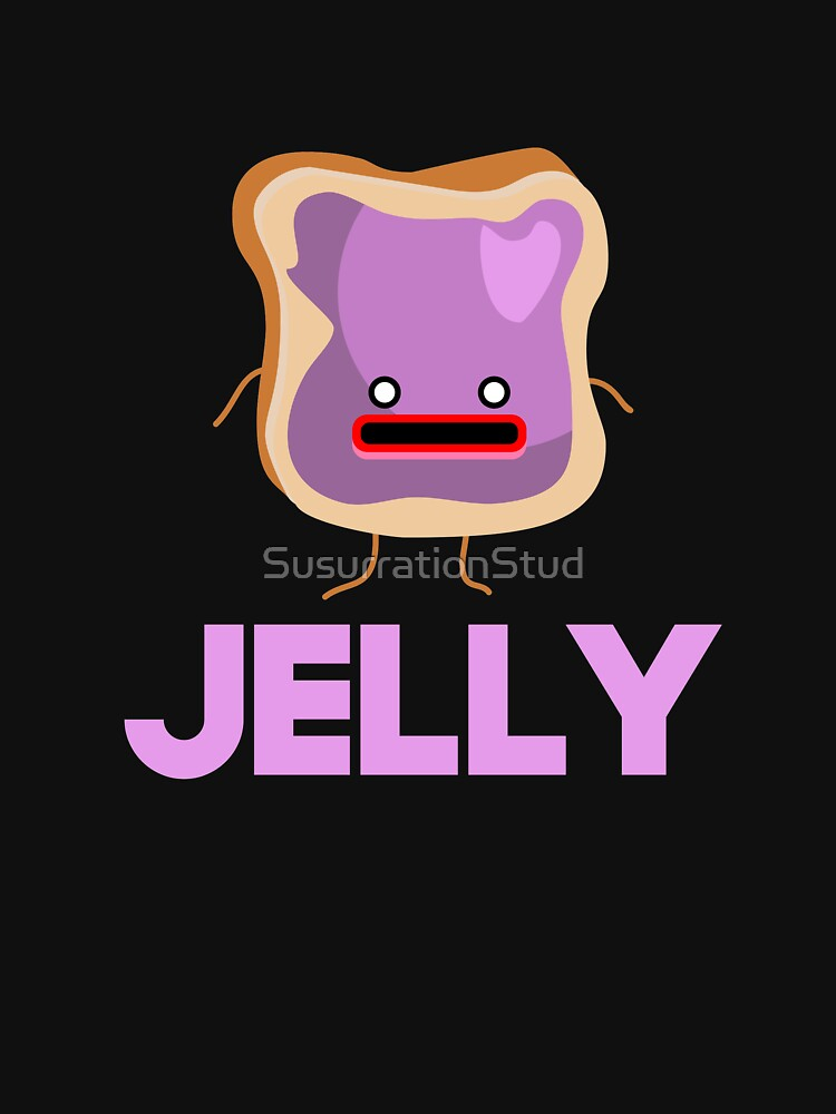 Peanut Butter And Jelly Matching Couple Shirt by SusurrationStud