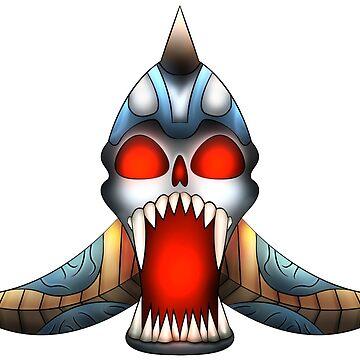 Skull design by Melcu