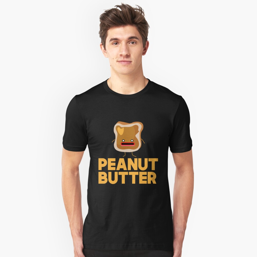 Peanut Butter And Jelly Matching Couple Shirt Unisex T-Shirt Front