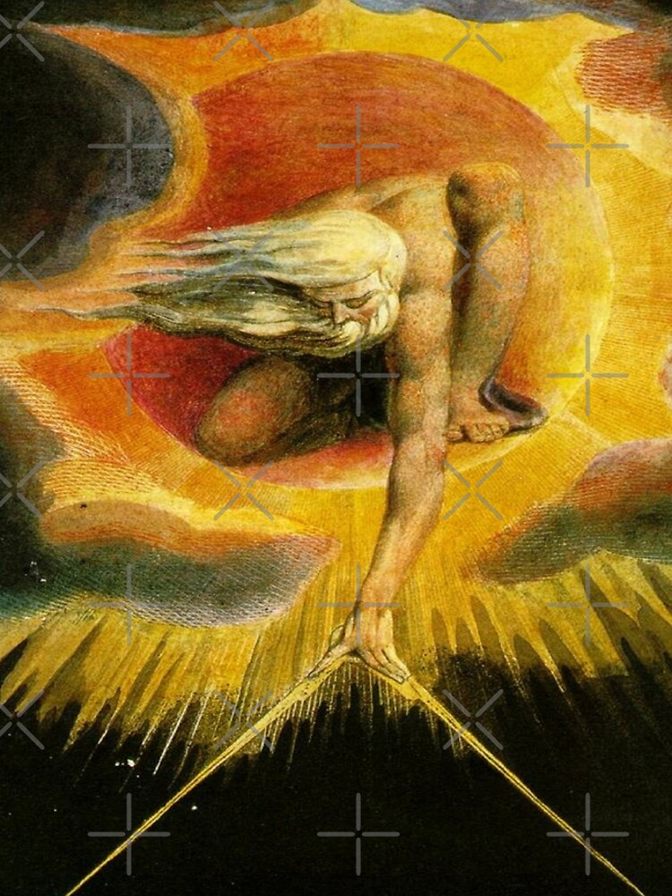 The Ancient of Days-William Blake by LexBauer