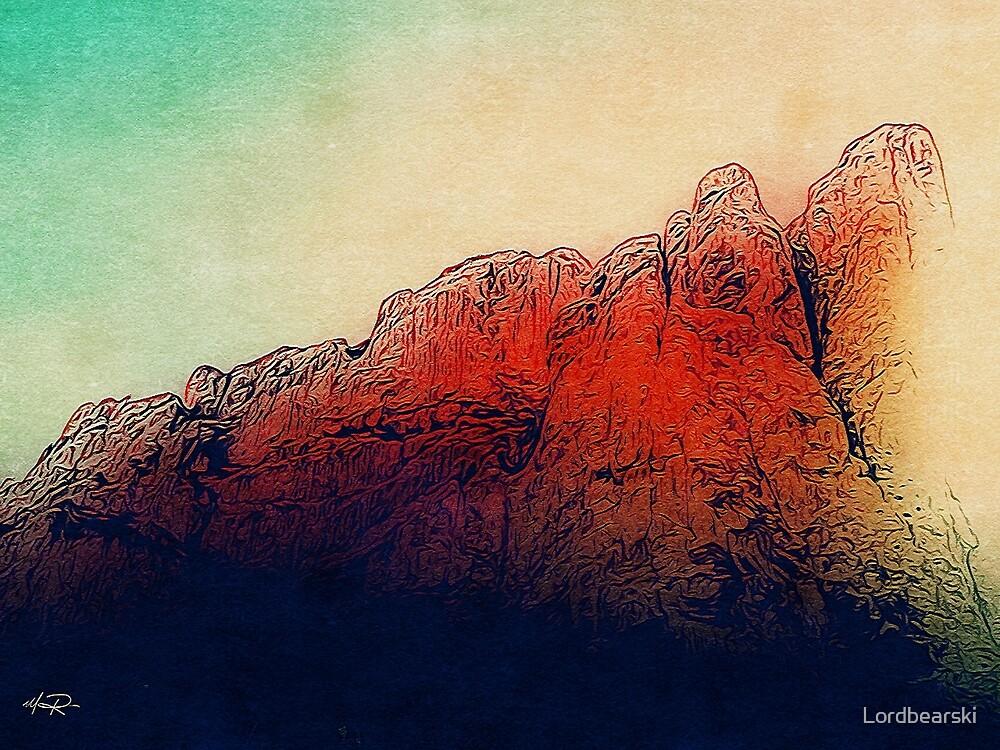 Red Rocks by Matthew Rowlette
