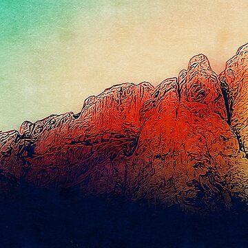 Red Rocks by Lordbearski