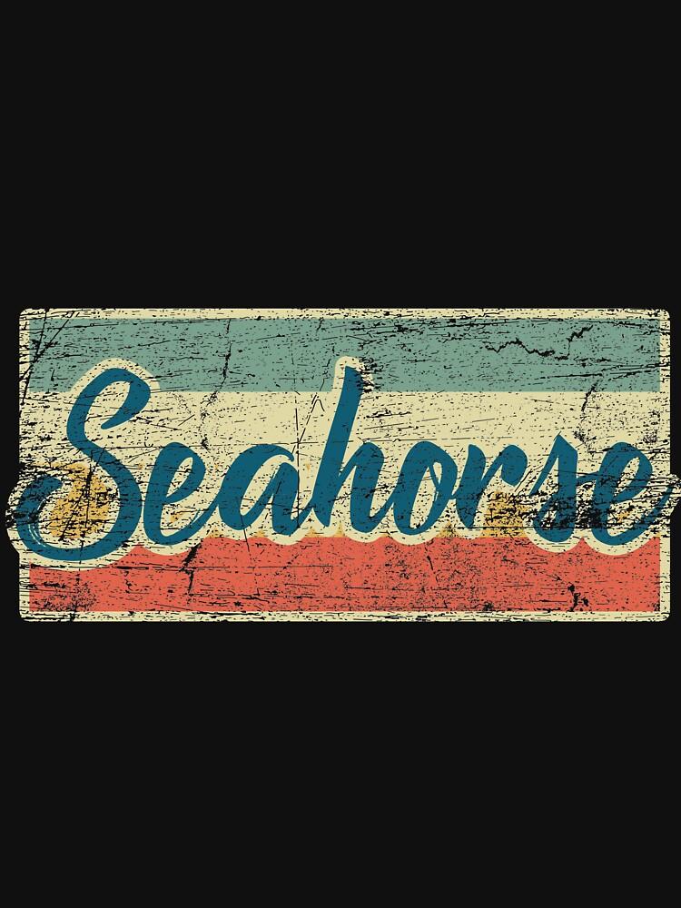 sea horse by GeschenkIdee