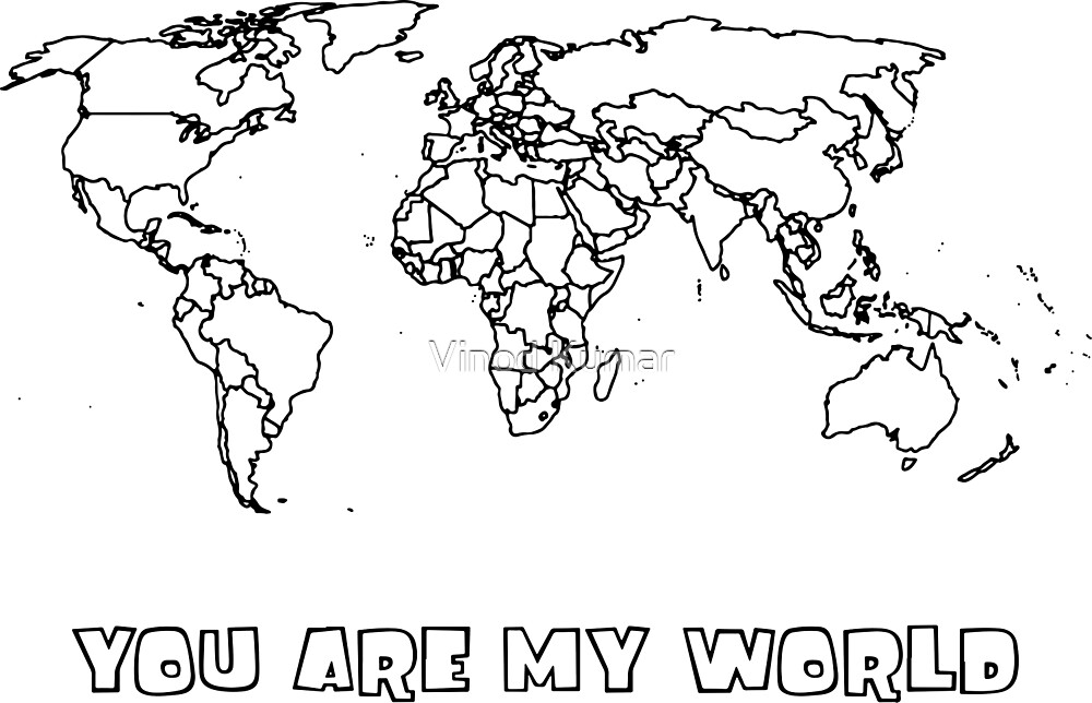 you are my world by Vinod Kumar