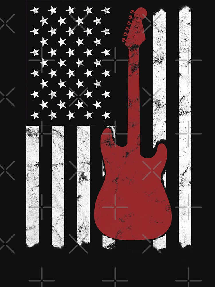 Electric Guitar Patriot by starider