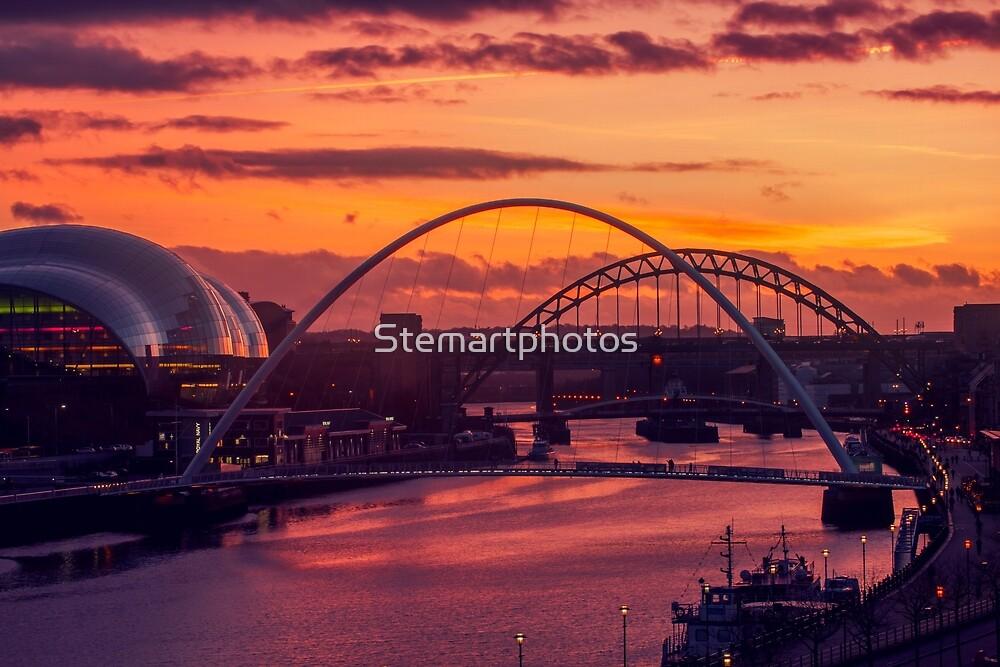 NewcastleGateshead Quayside by Stemartphotos