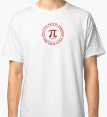 Camiseta clásica Camiseta blanca y otros 16 tipos de ropa (Mathematorium) (M7ROT-RL)