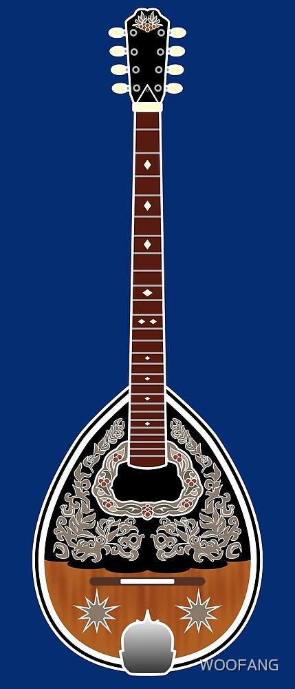 MUSICAL INSTRUMENTS - BOUZOUKI by WOOFANG