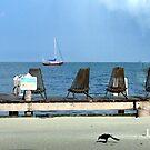 Red Yacht...Caye Caulker,Belize by graeme edwards