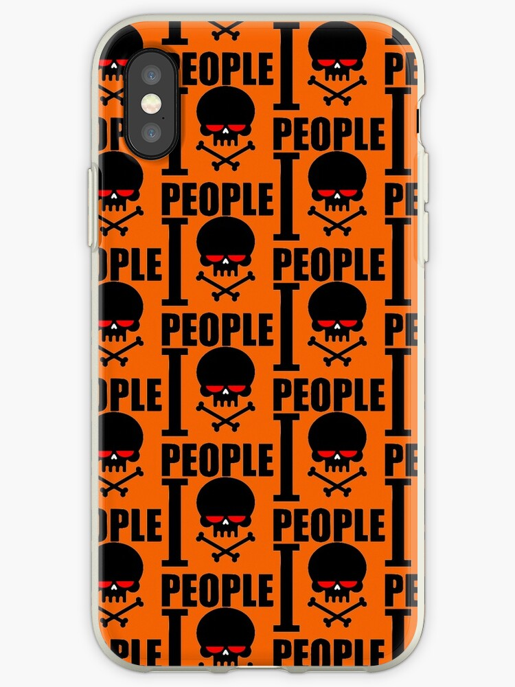 I Hate People Orange by Groppo