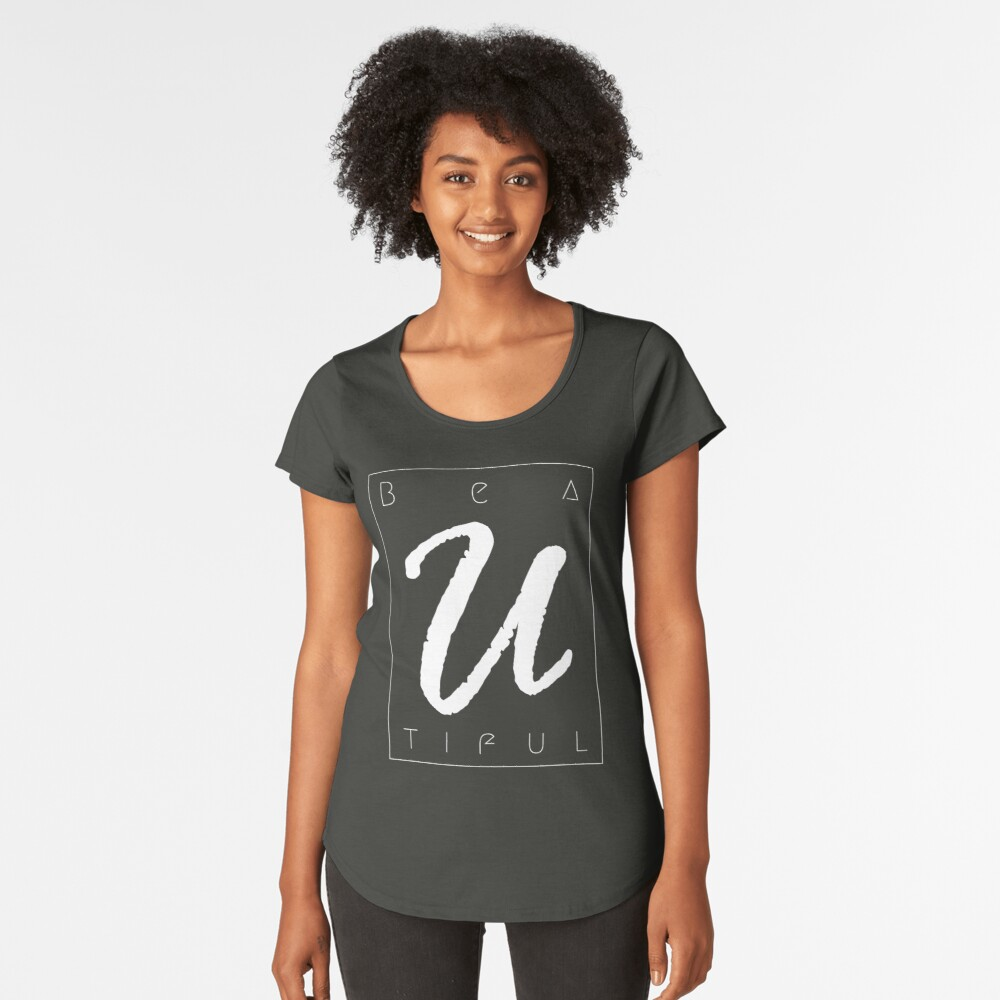 Beautiful Women's Premium T-Shirt Front