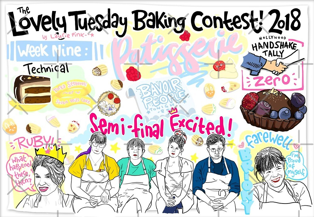 The Lovely Tuesday Baking Contest: Patisserie Week! by lauriepink