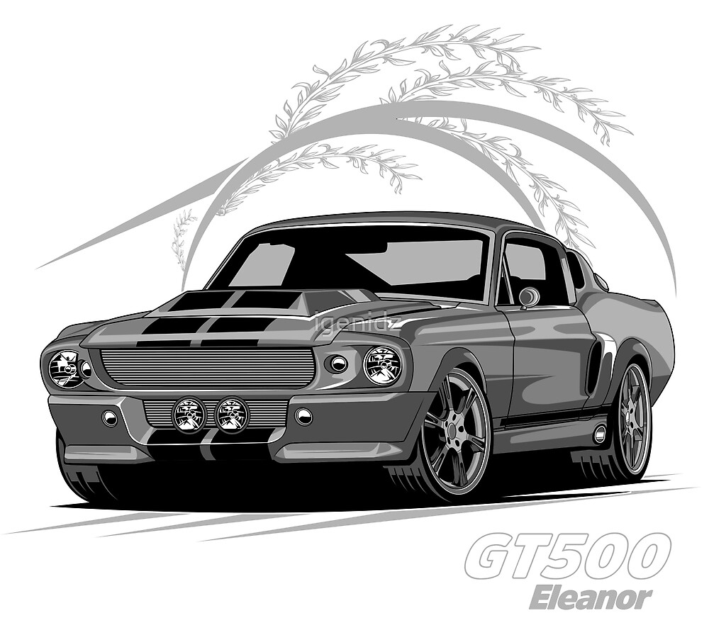 Ford Shelby Eleanor by igenidz