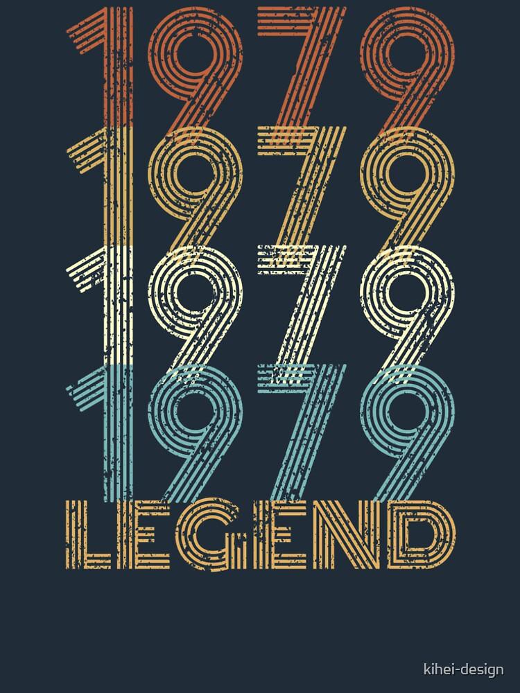 40th Birthday Born in 1979 Legend by kihei-design