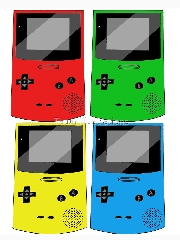 Game Boy Color variety design by TinyMiniMe
