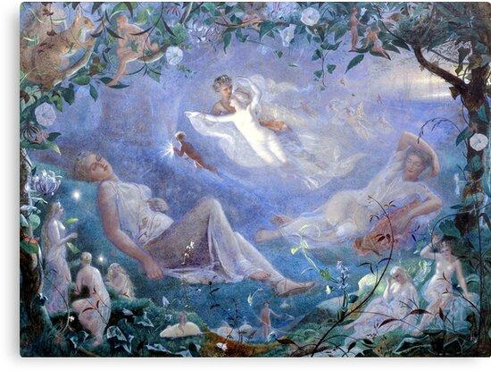 Scene From A Midsummer Night's Dream - John Simmons  by forgottenbeauty
