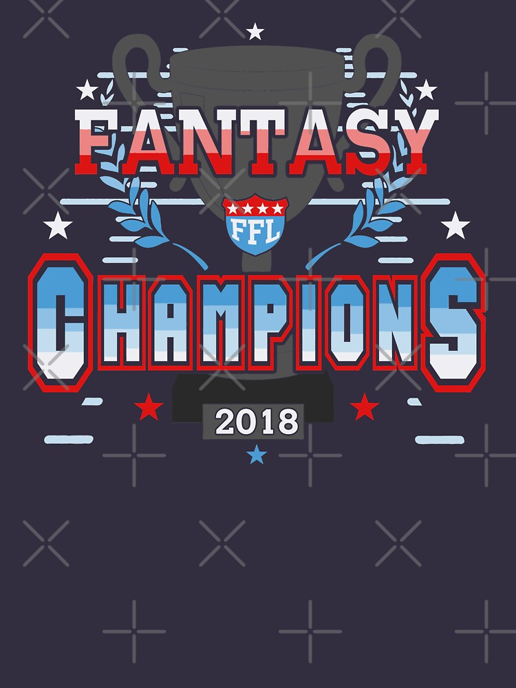 Fantasy Football Champions 2018 FFL Fantasy League Champs by TeeCreations