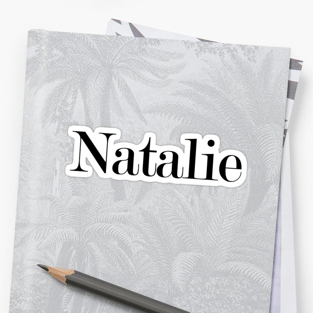 natalie by arch0wl