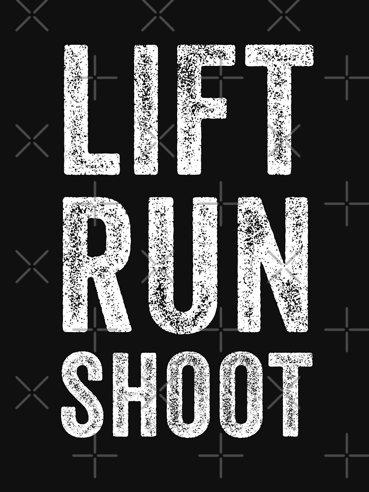 Lift Run Shoot Fitness by with-care