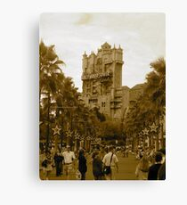 """""""The Hollywood Tower"""" Canvas Print"""