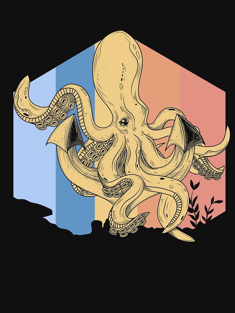 Octopus ocean by GeschenkIdee