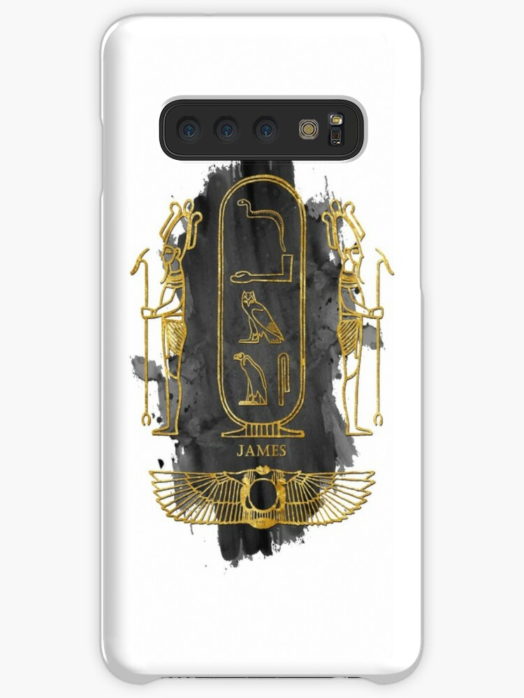 'your name in old Egyptian hieroglyphics symbols - JAMES' Case/Skin for  Samsung Galaxy by elmanchour
