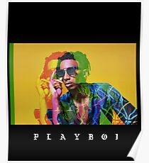 Playboi Carti Fan Art & Gear Poster