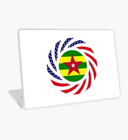 Togolese American Multinational Patriot Flag Series Laptop Skin