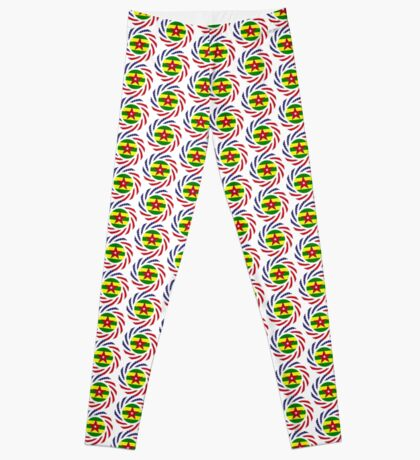 Togolese American Multinational Patriot Flag Series Leggings