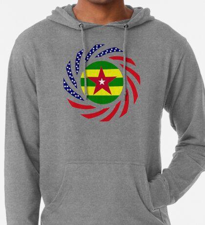 Togolese American Multinational Patriot Flag Series Lightweight Hoodie