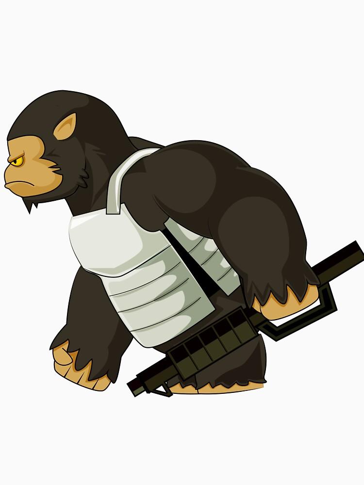 Gorilla weapon by ModaMario1021