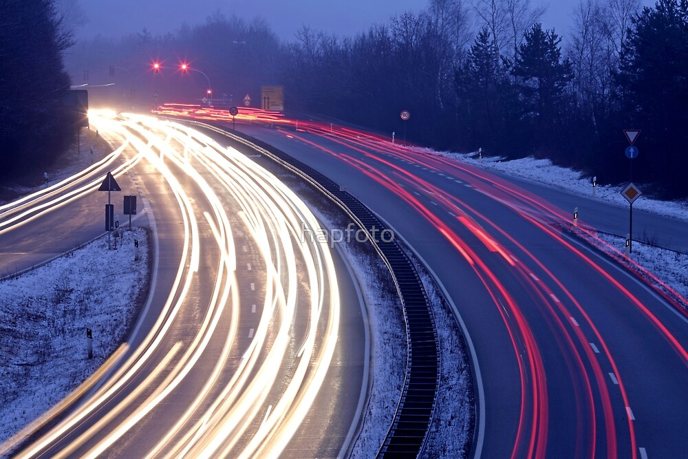 light trails by hapfoto