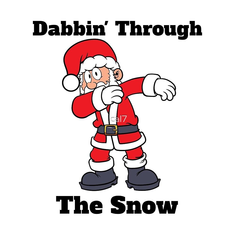 Dabbin Through The Snow by cal7