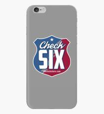 Check Six Logo iPhone Case