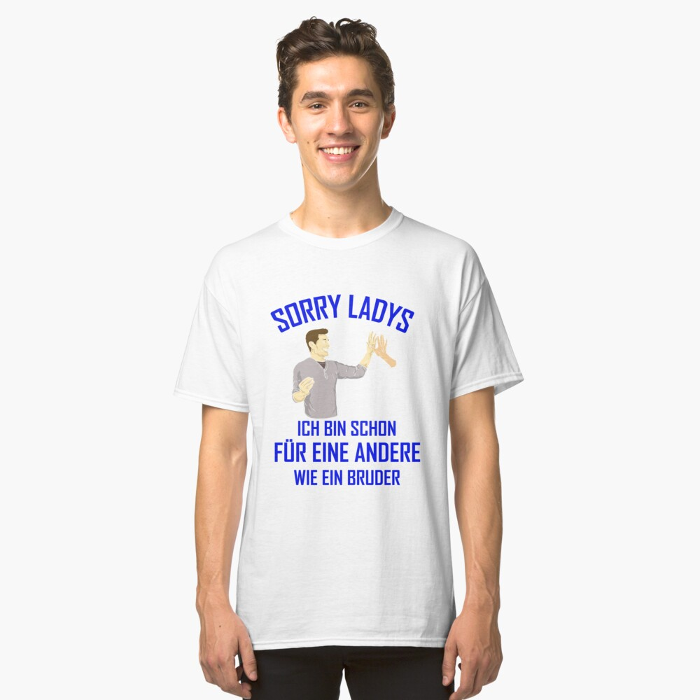 Like a brother - funny saying for cool guys Classic T-Shirt Front