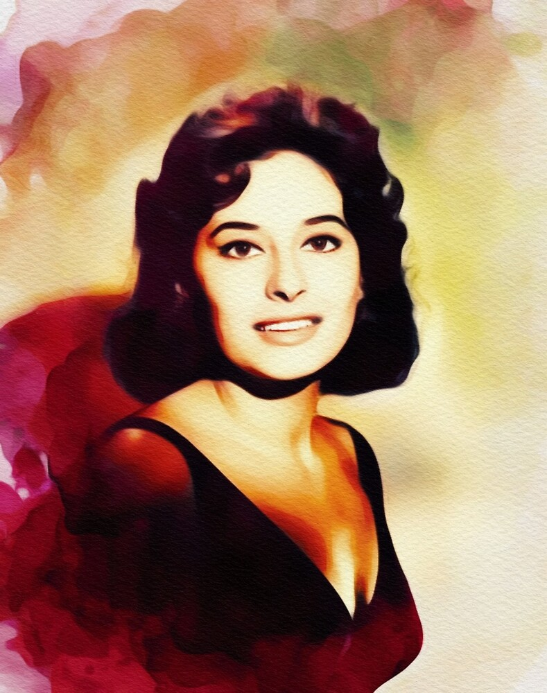 Ina Balin, Vintage Actress by SerpentFilms