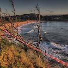 Caution Wet Paint -Avalon Headland, Sydney - The HDR Experience by Philip Johnson