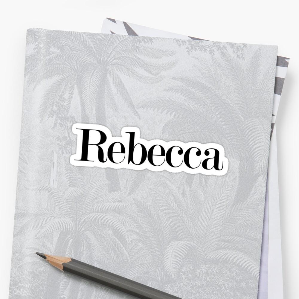 rebecca by arch0wl