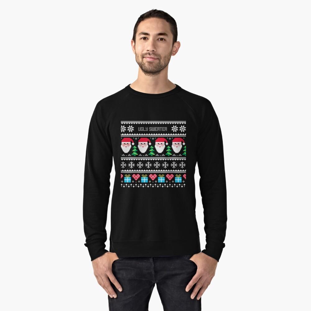 Ugly Sweater Christmas Sweater Lightweight Sweatshirt Front