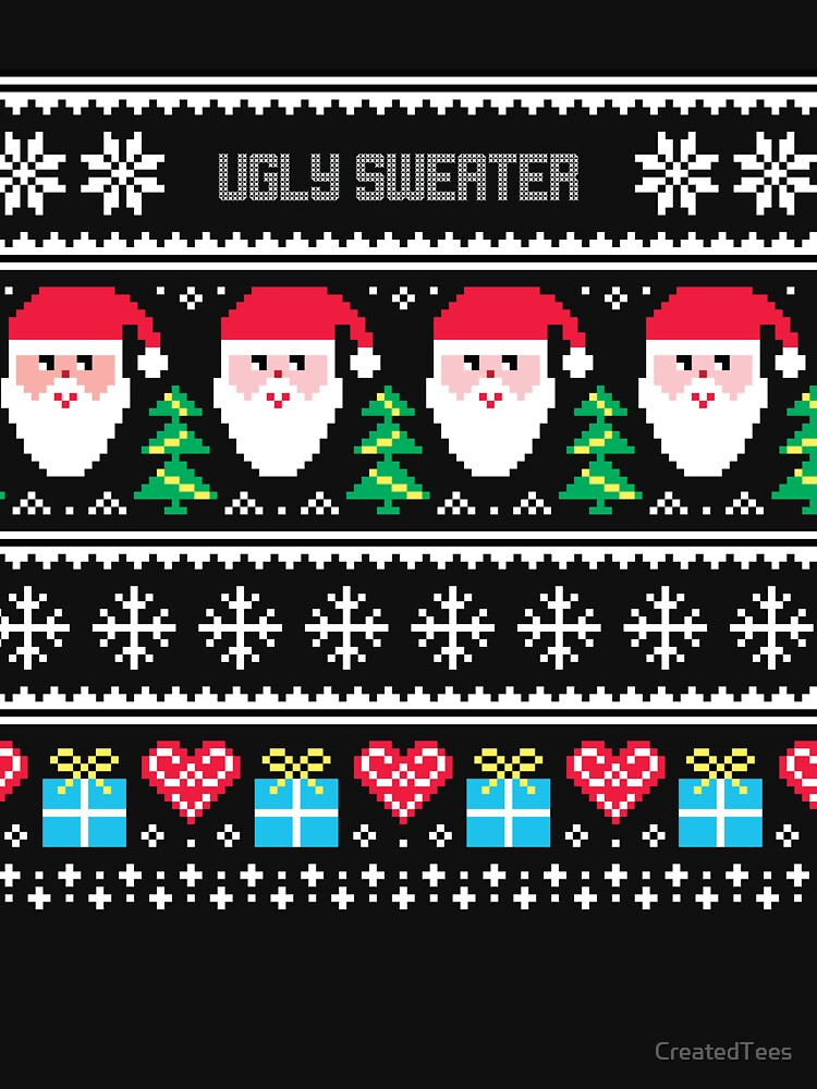Ugly Sweater Christmas Sweater by CreatedTees