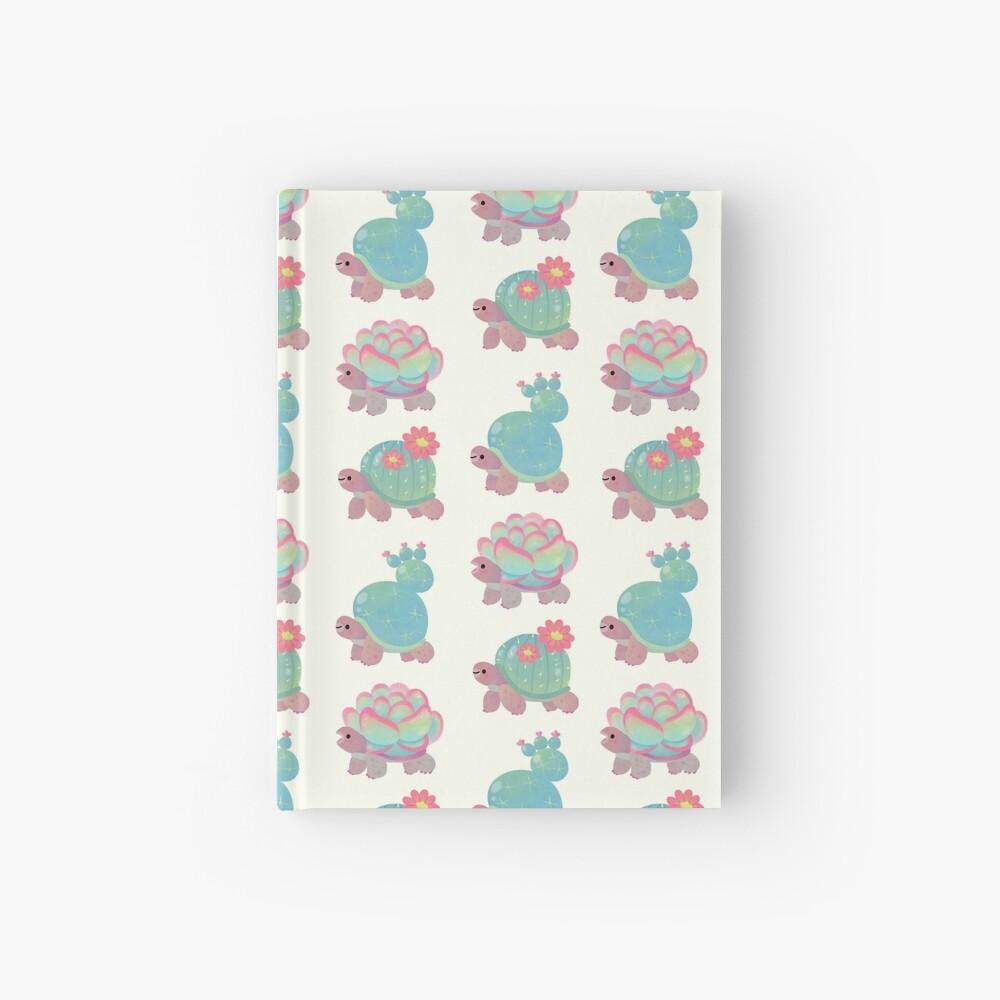 Cactus tortoise Hardcover Journal