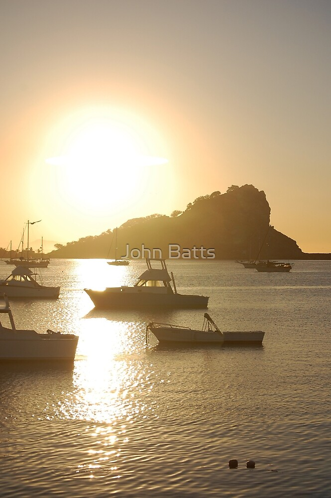Marina Sunset by John Batts