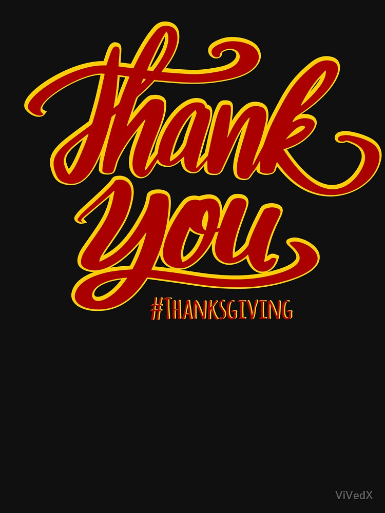 Thank you - Thanksgiving! by ViVedX