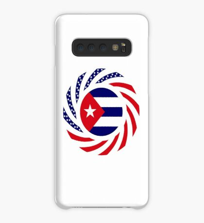 Cuban American Multinational Patriot Flag Series Case/Skin for Samsung Galaxy