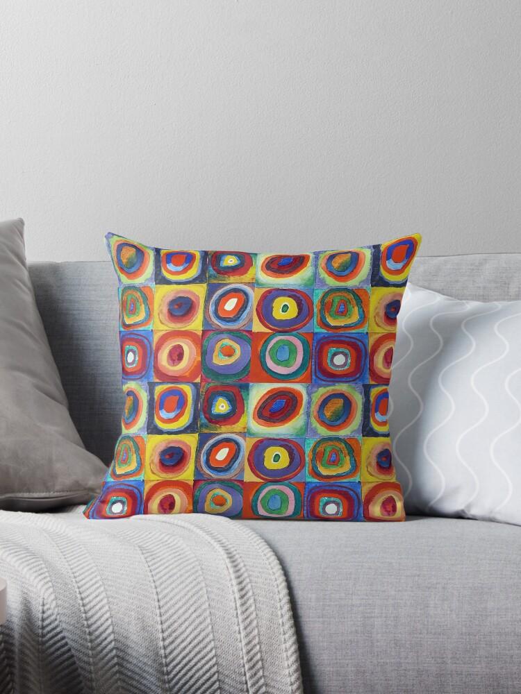 Wassily Kandinsky - Color Study - Bauhaus Art by NewNomads