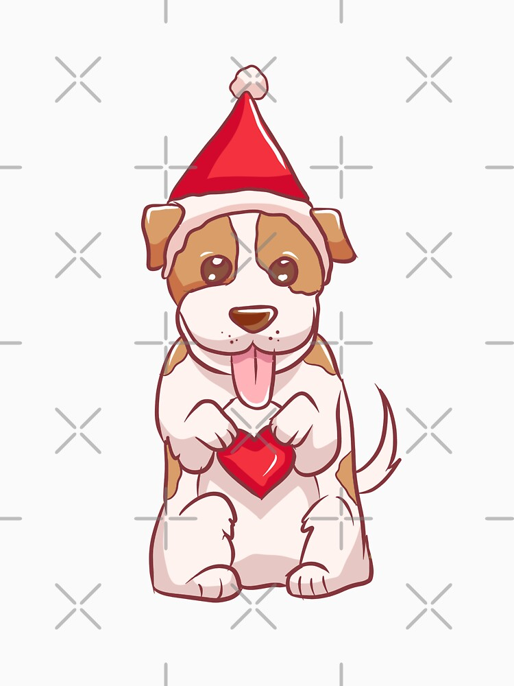 Russell Terrier Christmas Love by rkhy
