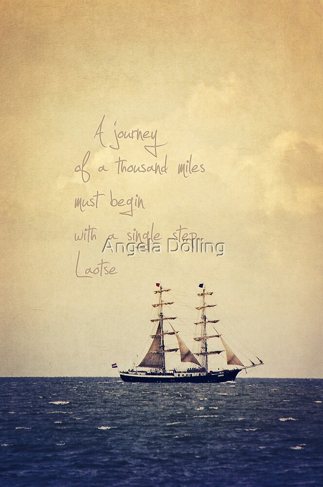 Sailing by Angela Dölling