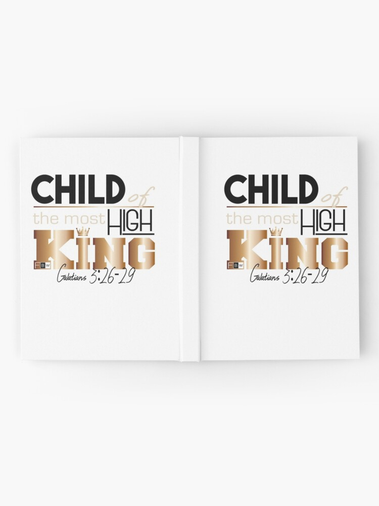 Alternate view of Child of the Most High King Hardcover Journal